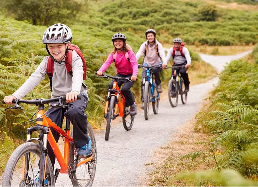 Mountain Biking around the Tetons and Jackson