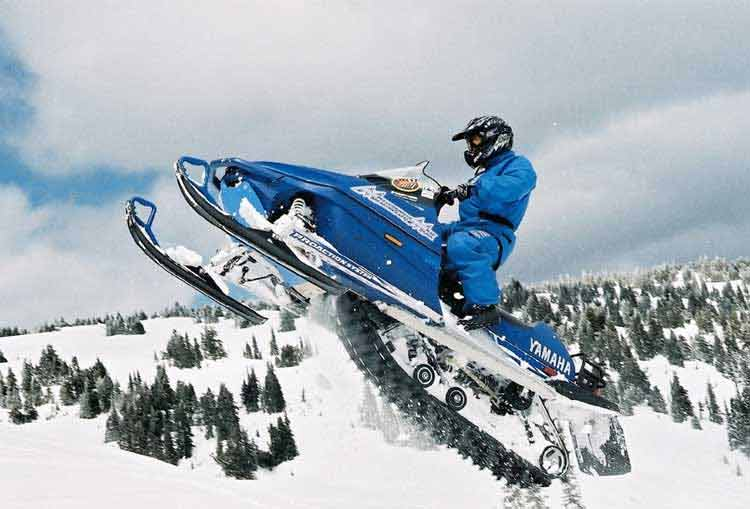 Snowmobiling - Teton Valley