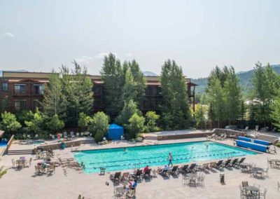 Teton Springs Outdoor Swimming Pool