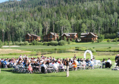 Beautiful Location for Weddings near the Tetons