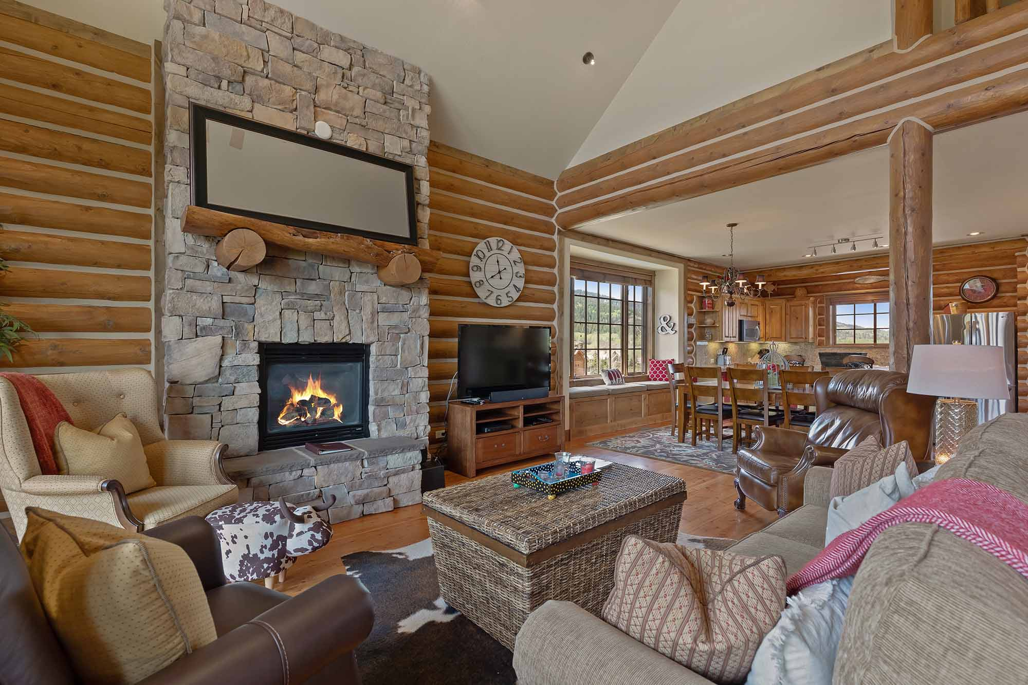 Rymell Log Cabin - 4 Bedroom - Teton Springs
