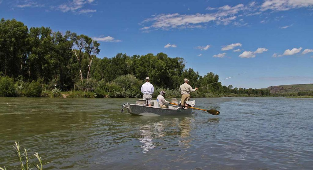 Fly Fishing on the Snake River