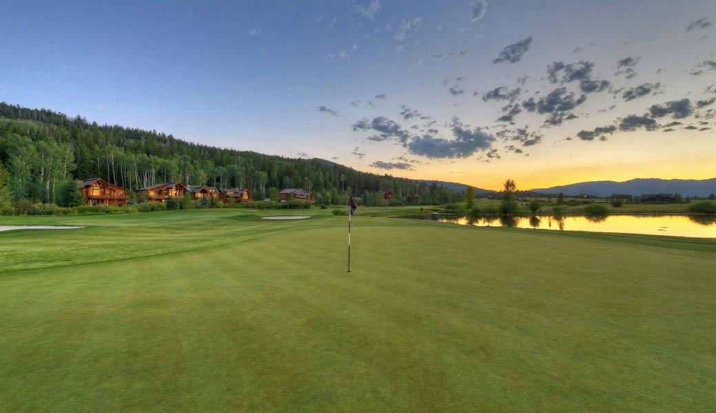 Golf Course Near Jackson Hole - Teton Springs