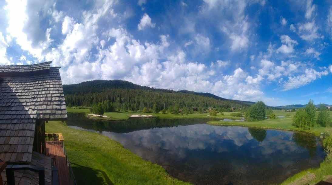 Beautiful Views from Teton Springs