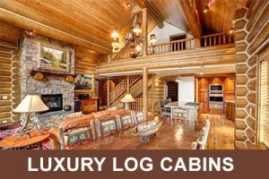 Luxury Log Cabins & Homes for Rent - Victor Idaho