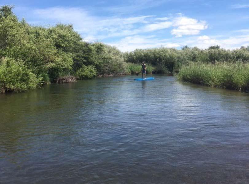 Floating the Teton River