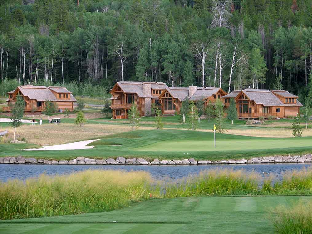 Hotels in Victor Idaho - Golf Course
