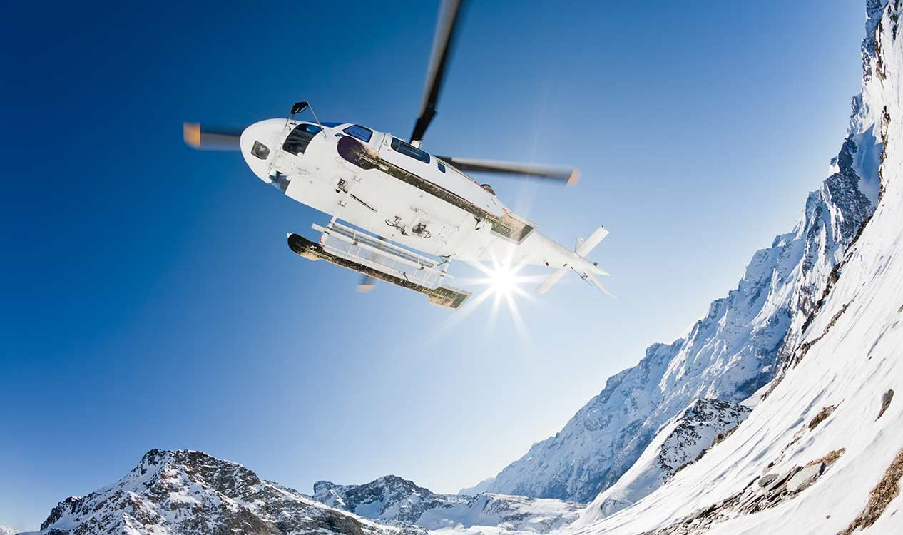 Idaho Winter Vacation Ideas - Heli Skiing