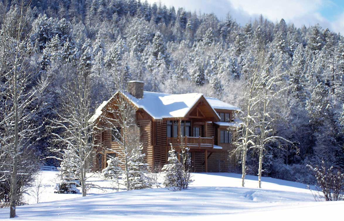 Idaho Winter Vacation - Winter Cabins