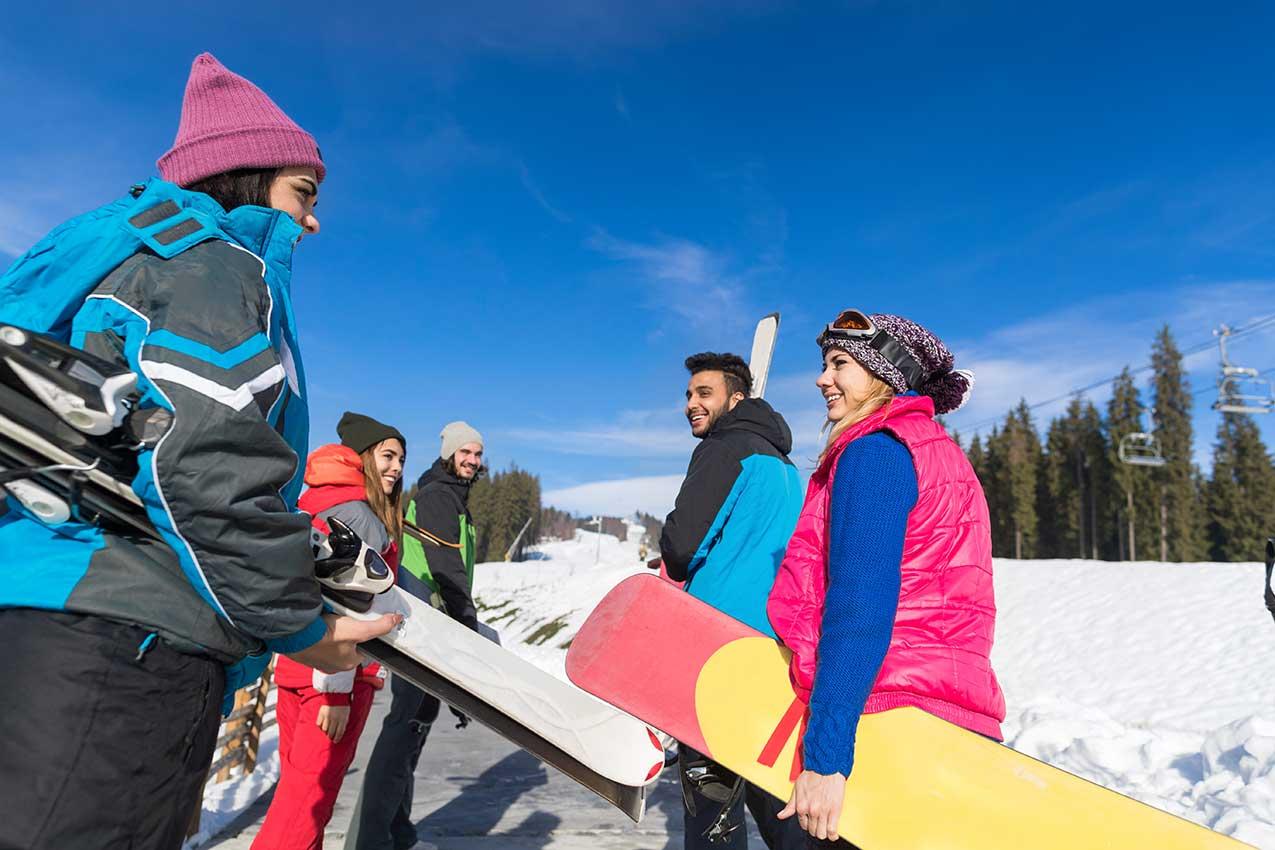 Winter Ski Resorts - Idaho