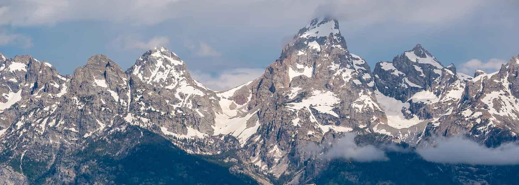 Scenic Flight over the Tetons