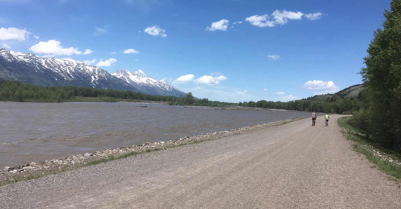 Biking in Jackson Hole Wyoming