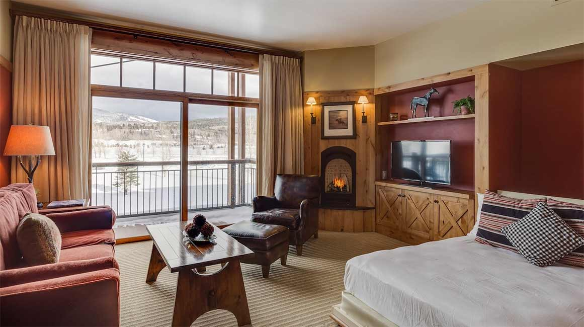 Hotel Room - Teton Springs Lodge - Victor Idaho
