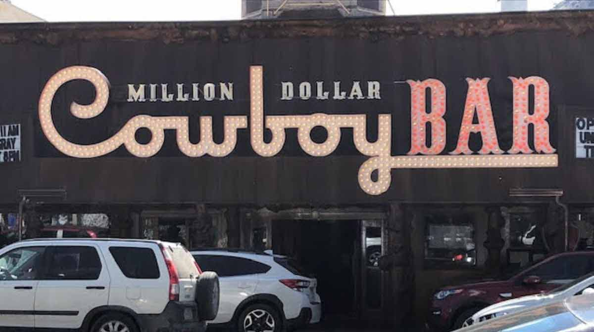Million Dollar Cowboy Bar - Jackson Hole, Wyoming