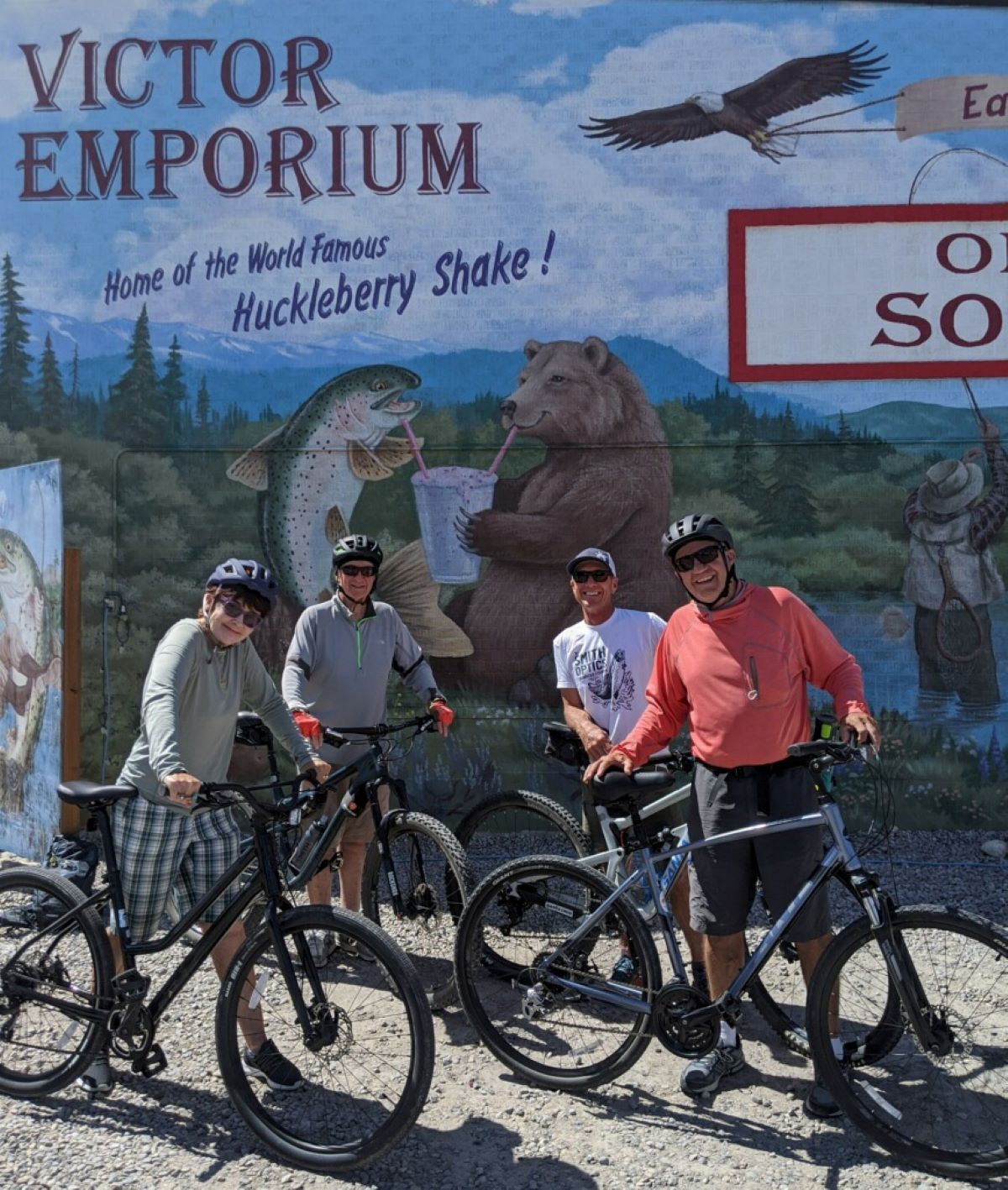 Biking in the Teton Valley