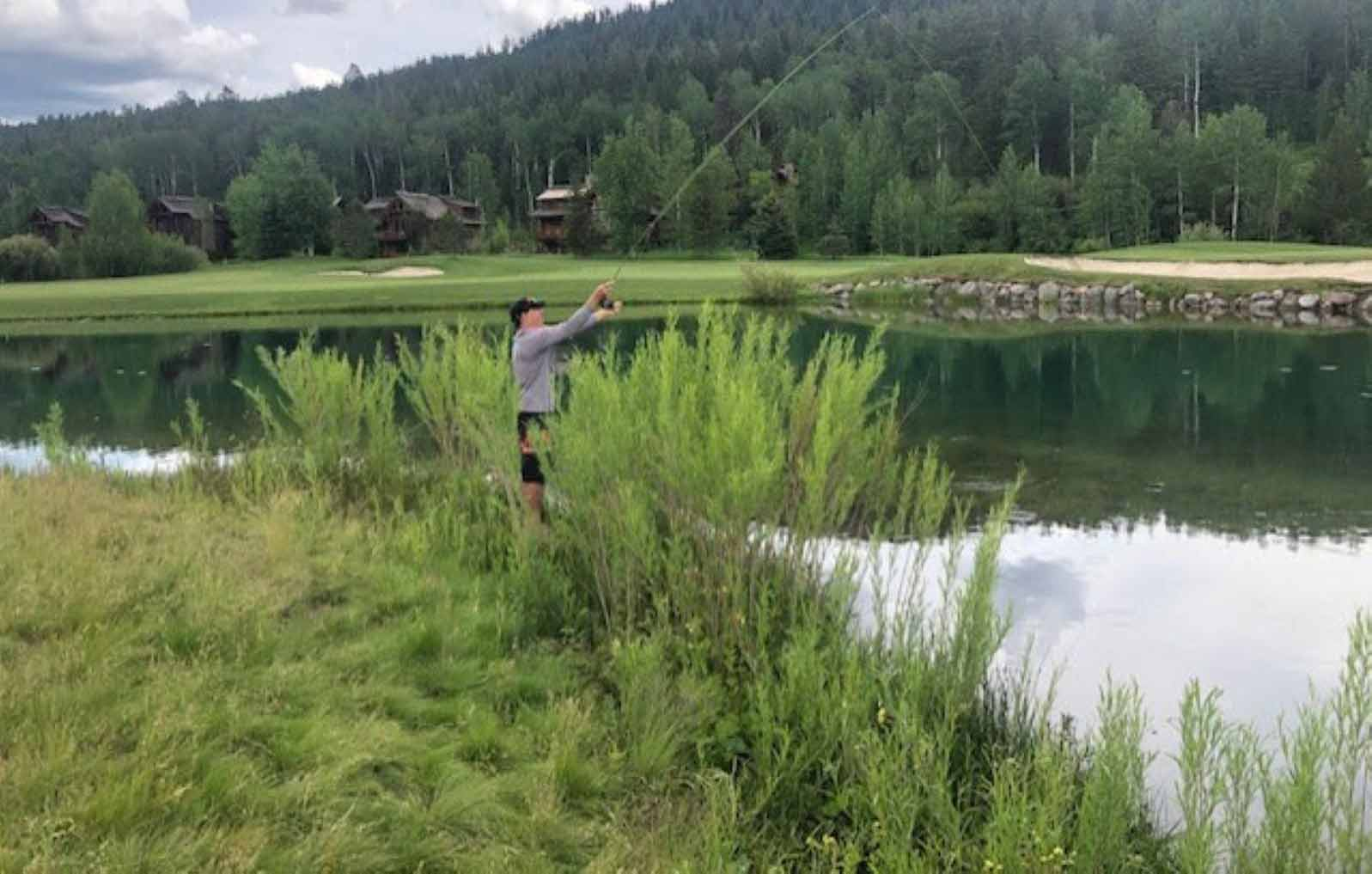 Fishing Ponds at Teton Springs