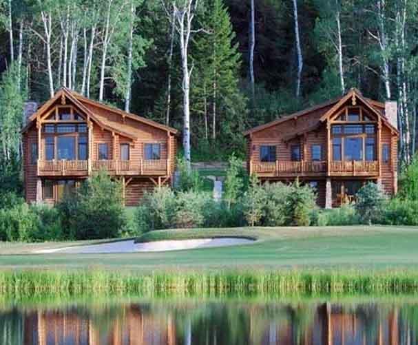Caribou-Targhee National Forest Log Cabin