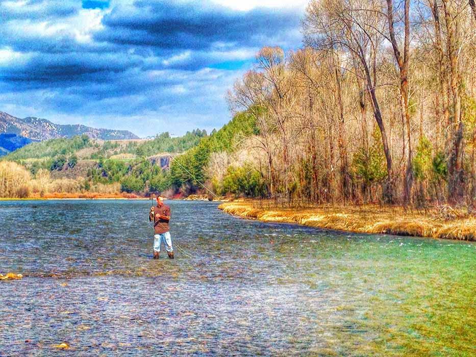 Fishing South Fork Snake River