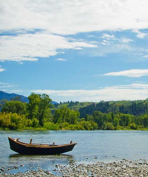 Snake River Near Swan Valley Idaho