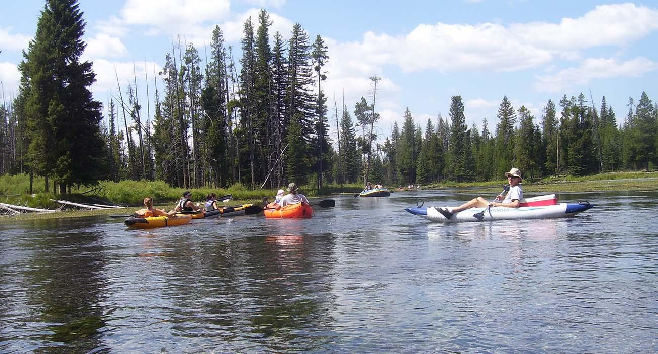 Floating Big Springs - Island Park