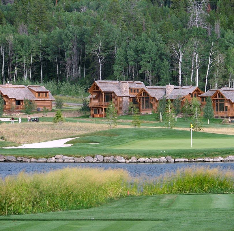 Golf Course in Victor - Driggs Idaho