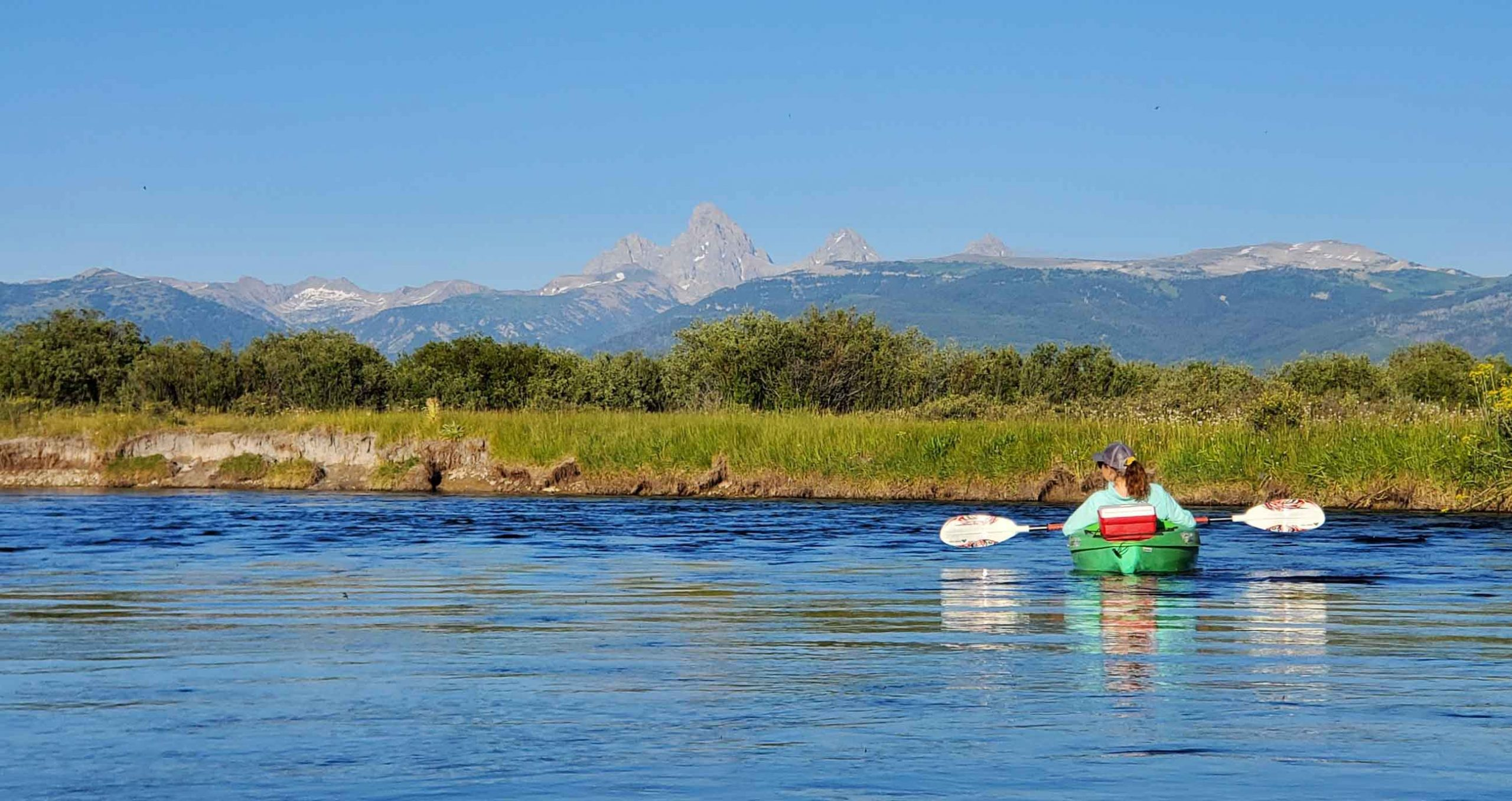 Floating the Teton River - Victor and Driggs