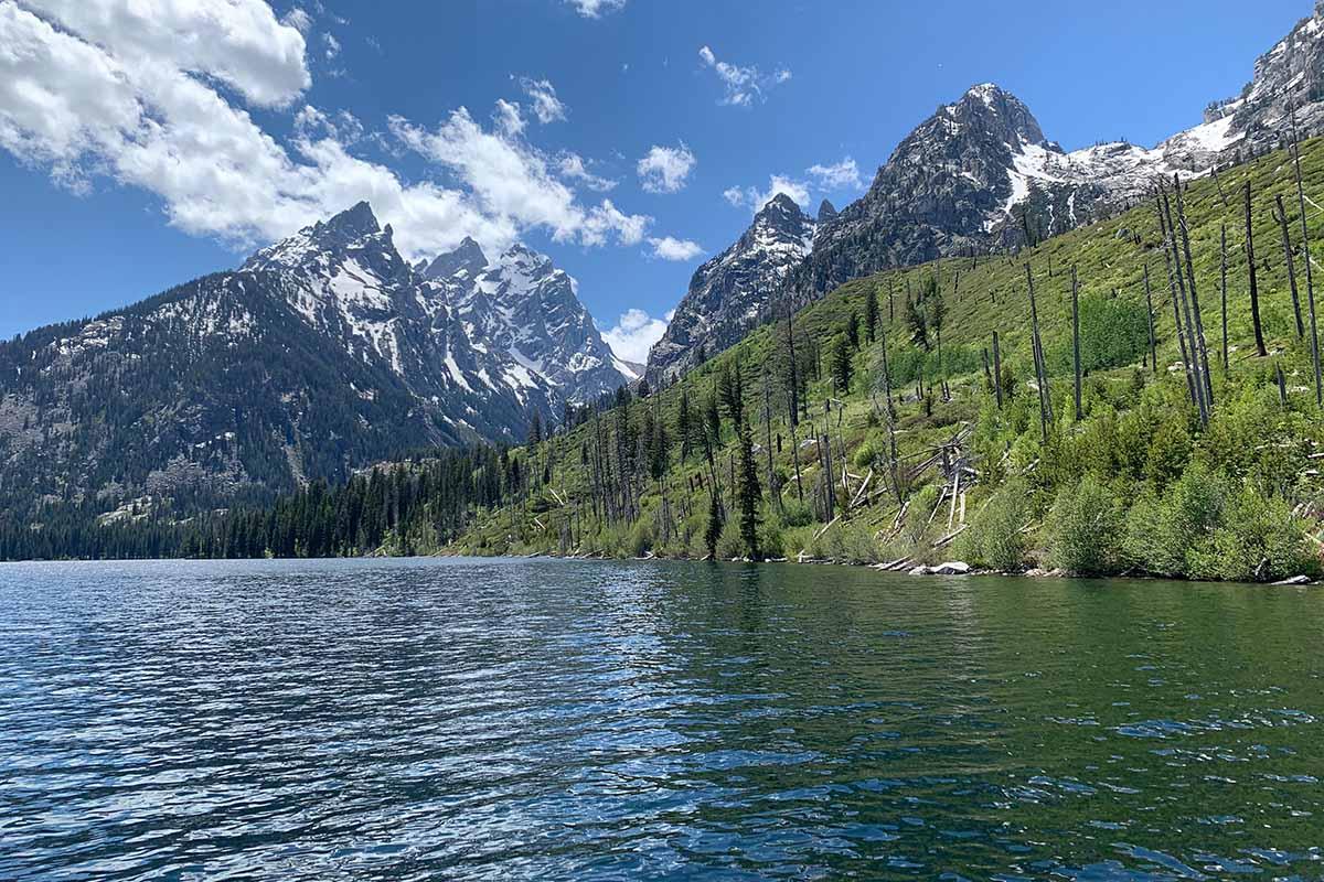 Jenny Lake and the Teton Mountains